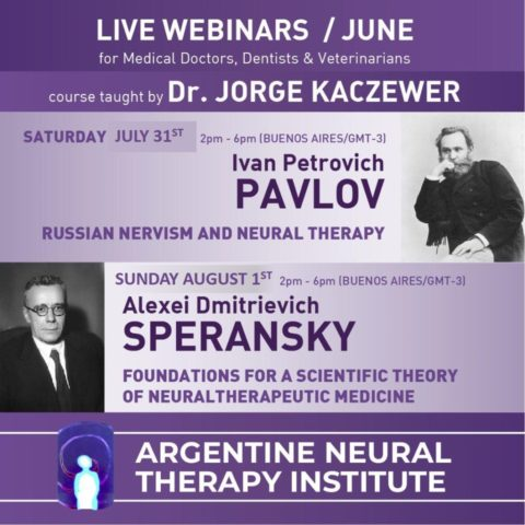 LIVE WEBINARS! : Russian Nervism and Neural Therapy